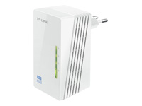 TP-Link AV500 2-port Powerline WiFi Extender 500Mbps Powerline datarate 300Mbps wireleses N Plug and Play 2 fast ethernet port