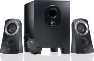 Logitech Z313 Speakers 2.1 Black